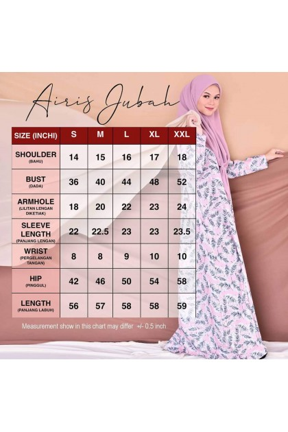 Airis Raya - Pinky Red